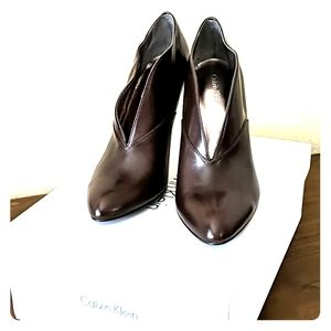 Brown Ankle Boots Good Condition